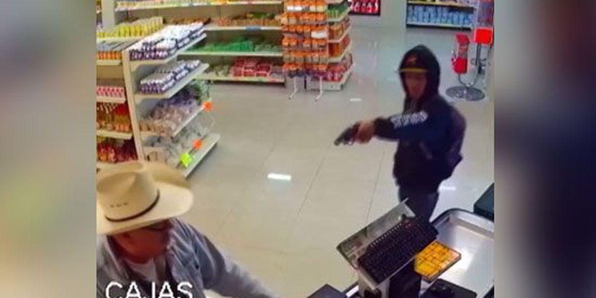 Man wearing cowboy hat stops would-be armed robber