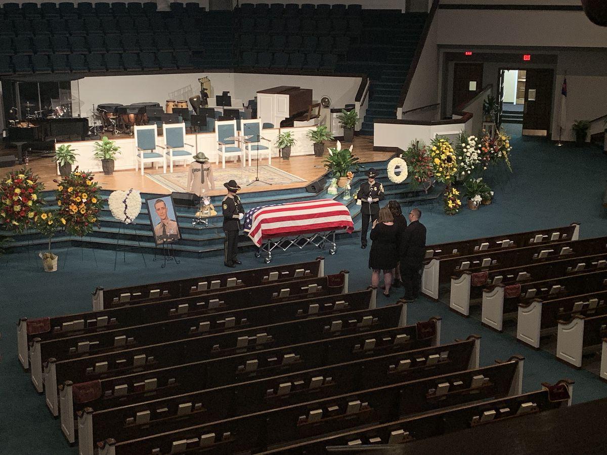 Tennessee State Trooper Matthew Gatti laid to rest Monday