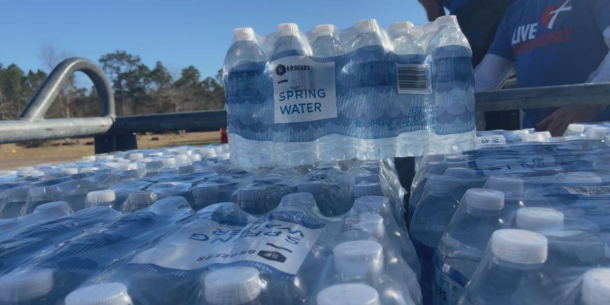 Free water giveaway Monday in Orange Mound