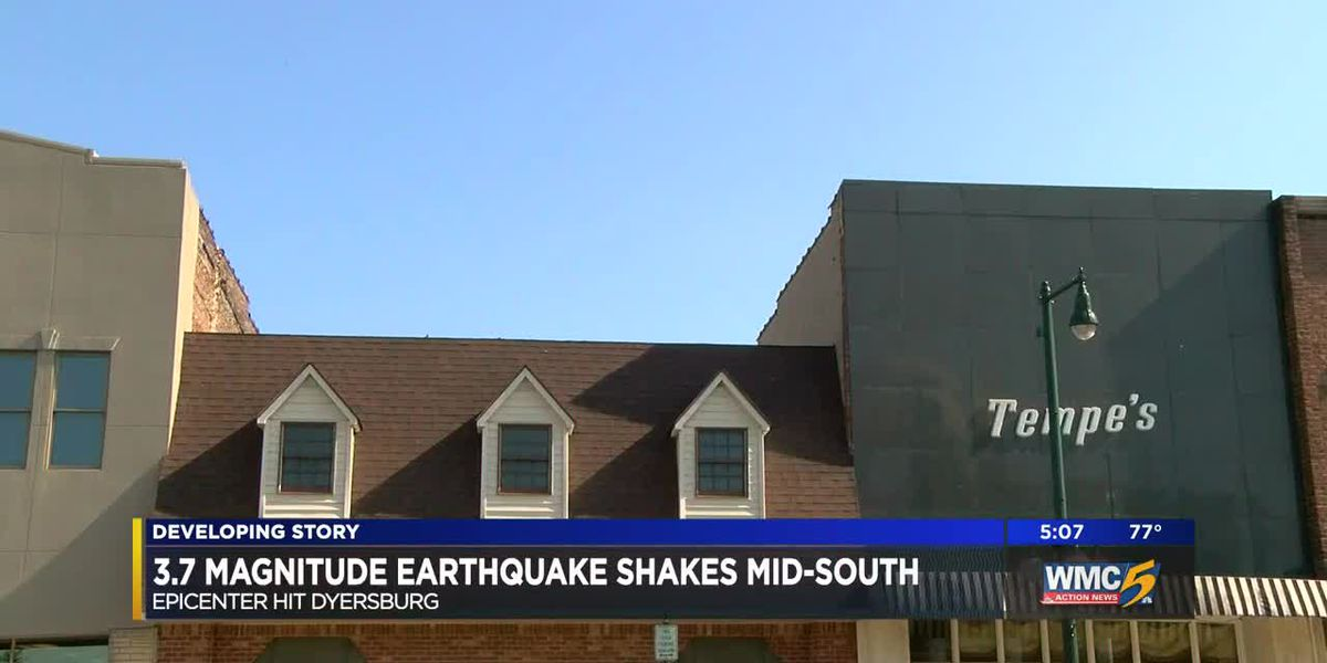 3.7 magnitude earthquake shakes Mid-South