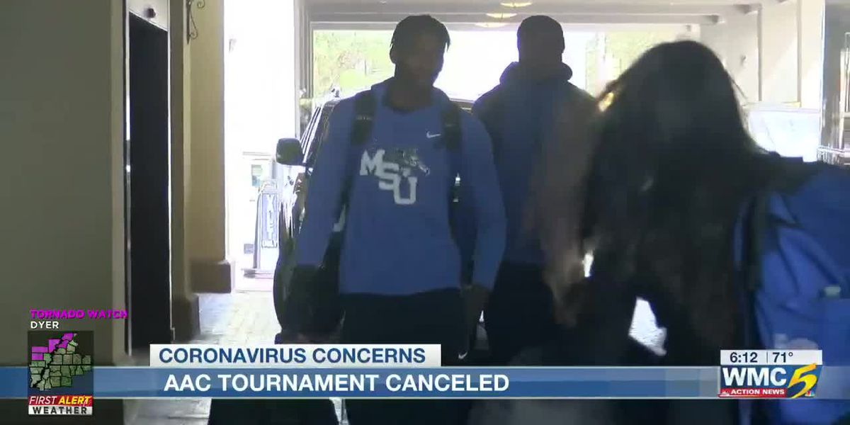 AAC tournament cancelled