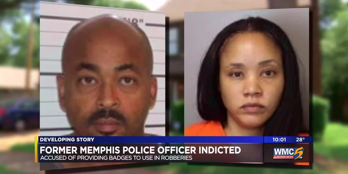 Ex-Memphis police officer indicted for civil rights violations, robbery and kidnapping