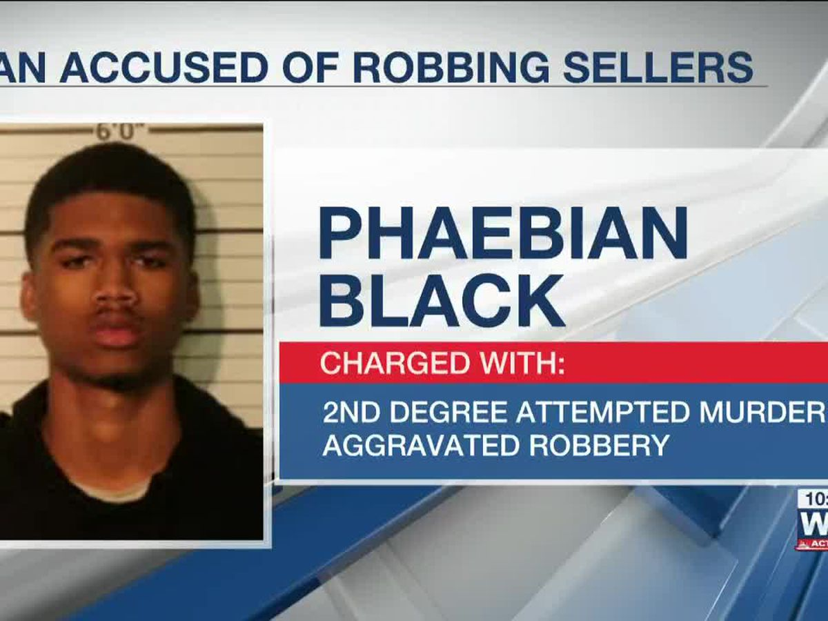 MPD: Man charged in robberies of Facebook Marketplace sellers