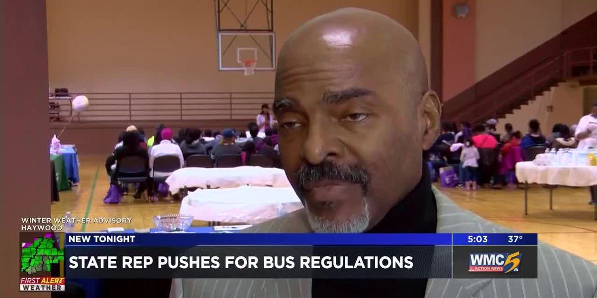 State rep pushes for bus regulations