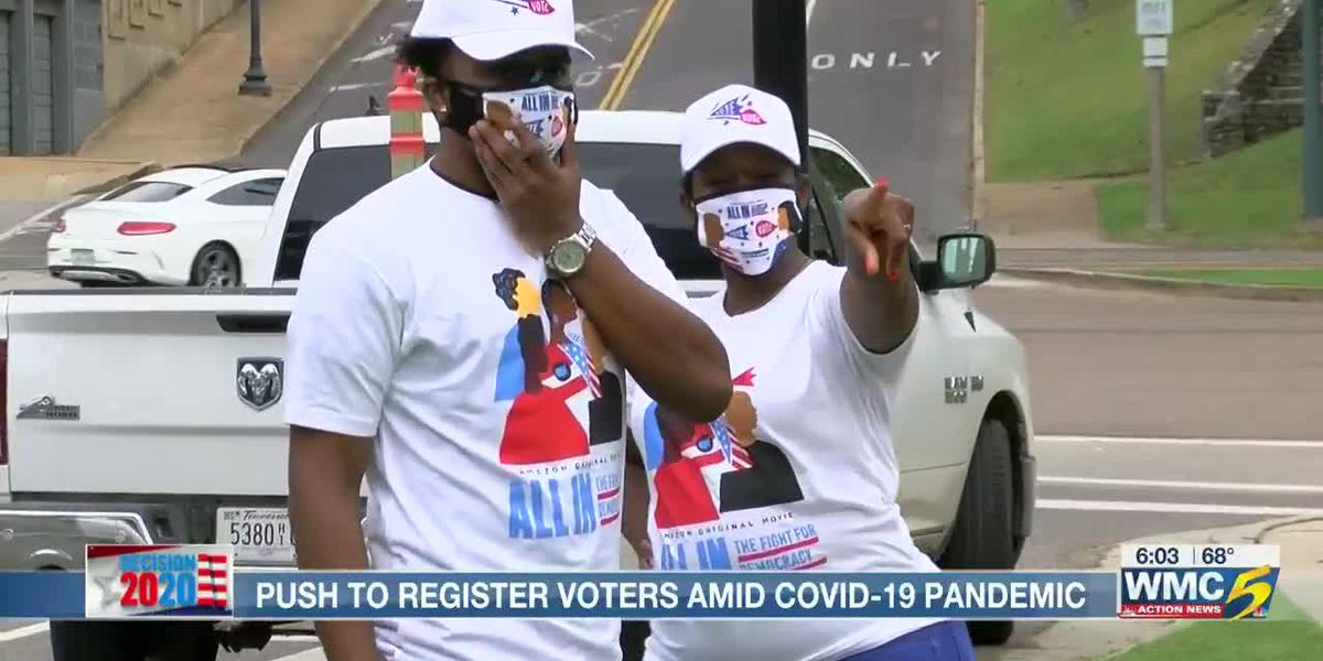 Push underway to register voters amid COVID-19 pandemic