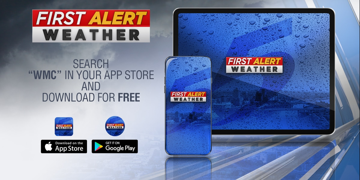 Get weather alerts free on the WMC Action News 5 First Alert Weather app