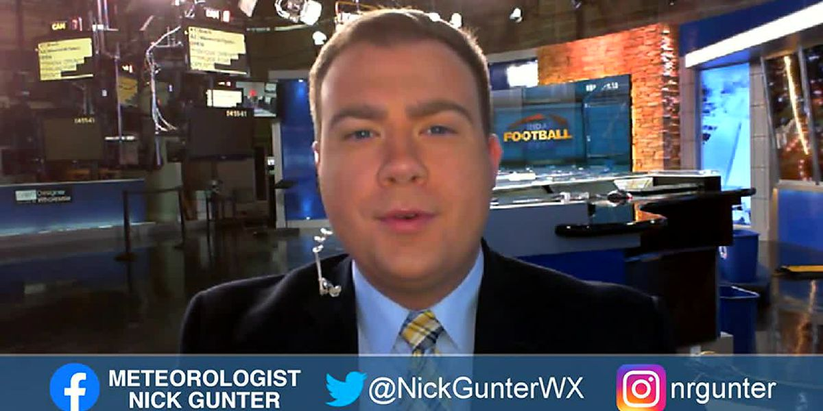 Nick's Saturday, September 19th, First Alert Forecast