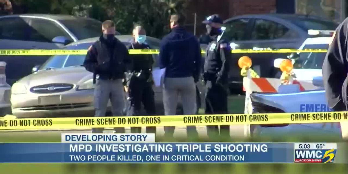 2 people dead after triple shooting in Southeast Memphis, MPD investigating