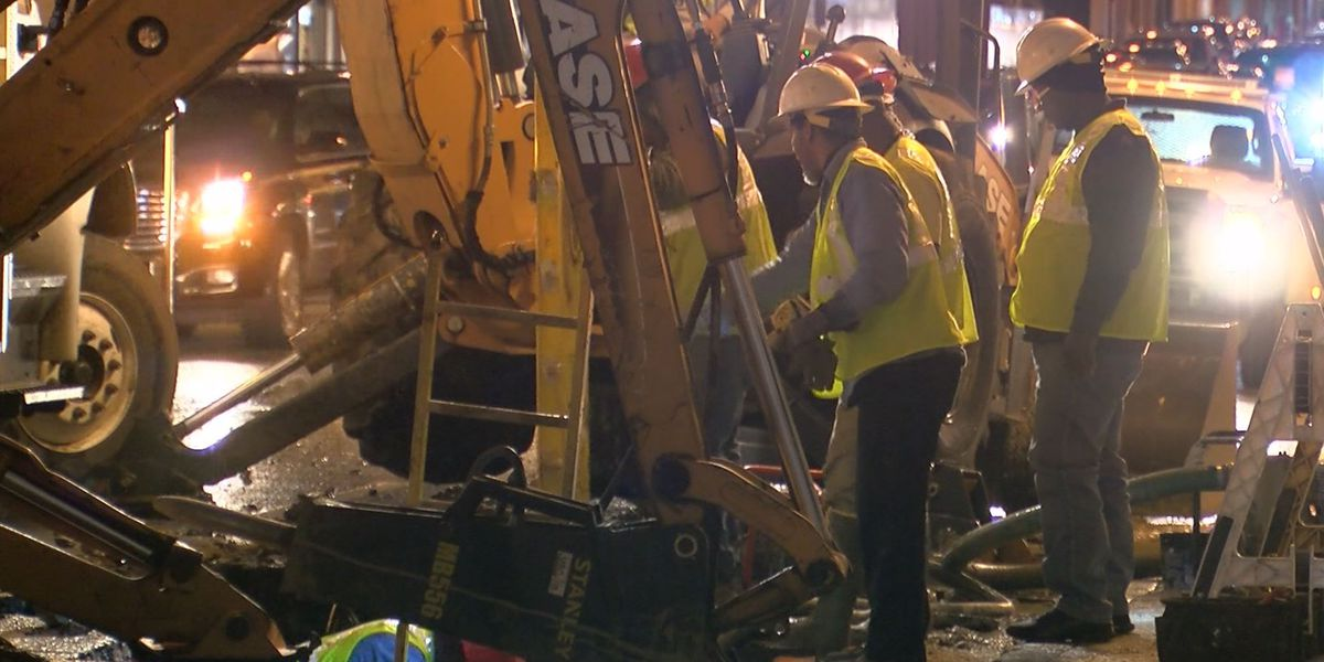 MLGW: 89 water main breaks repaired, water pressure has improved