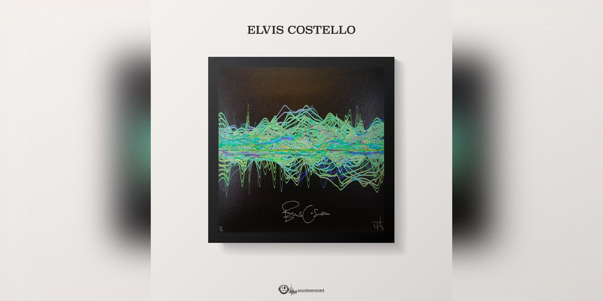 Elvis Costello raising money for Stax Music Academy with art created from audio recording
