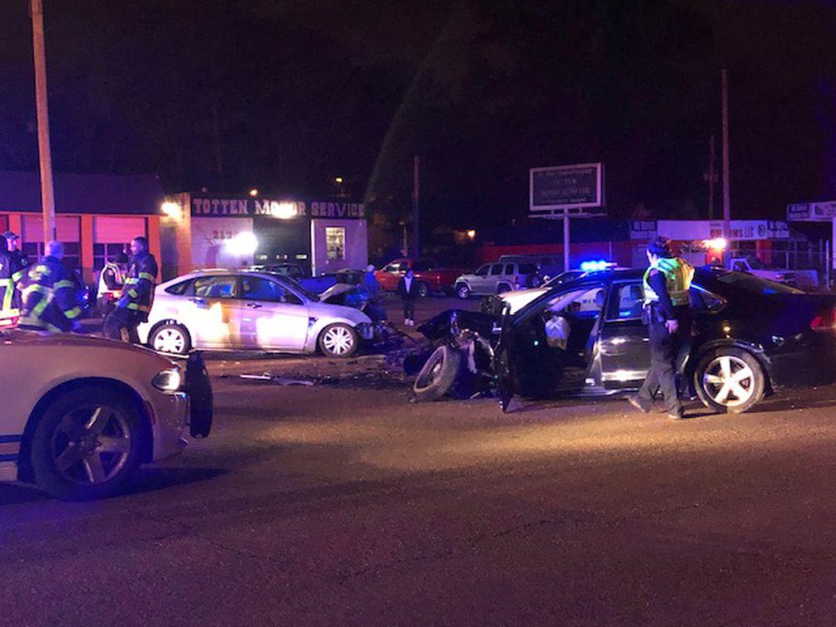 Man Killed 4 Children Injured In Two Car Crash