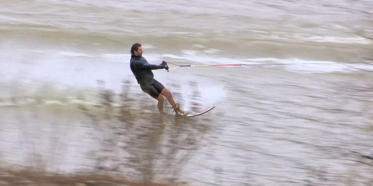 Mid-Southerners hit the Wolf River for Ski Freeze benefitting the Dream Factory of Memphis