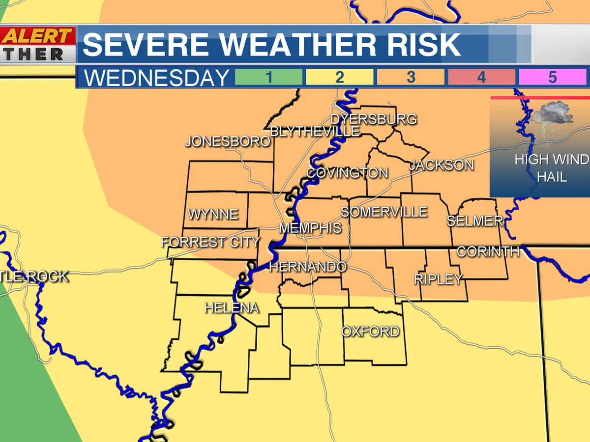 FIRST ALERT: Tracking strong to severe storms Wednesday night into Thursday morning