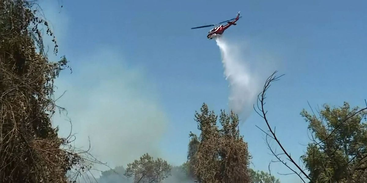 100,000 in Southern California to evacuate as blaze grows