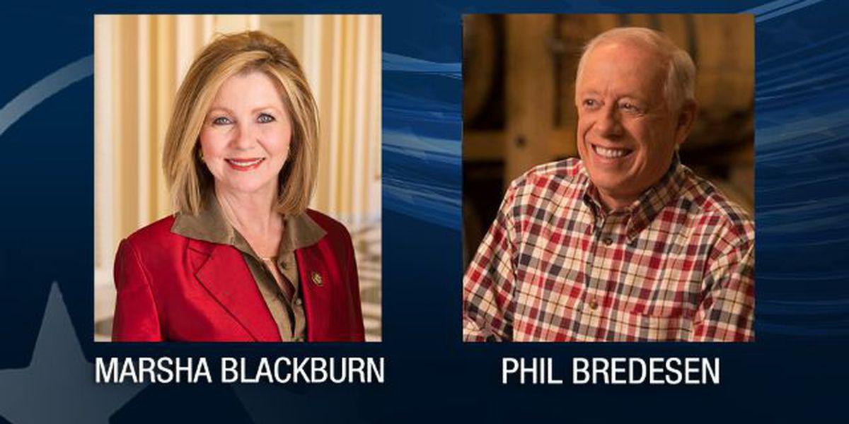 Poll: Blackburn edges ahead of Bredesen in tight Tennessee Senate contest