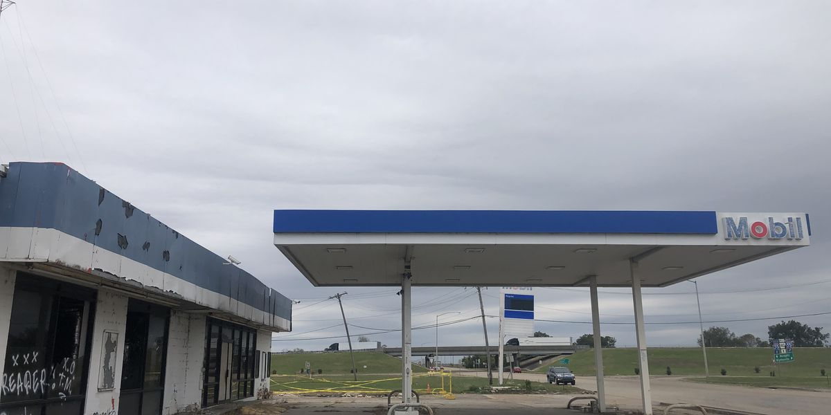 Osceola to demolish old gas station; Two city-wide cleanups beginning this weekend