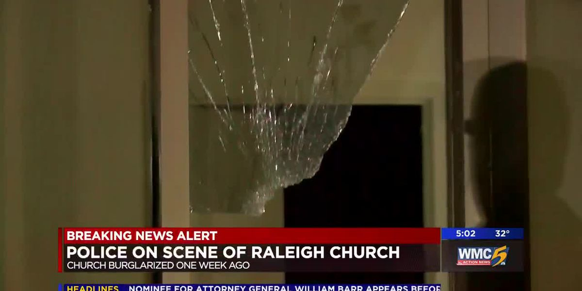 Police return to investigate burglarized church