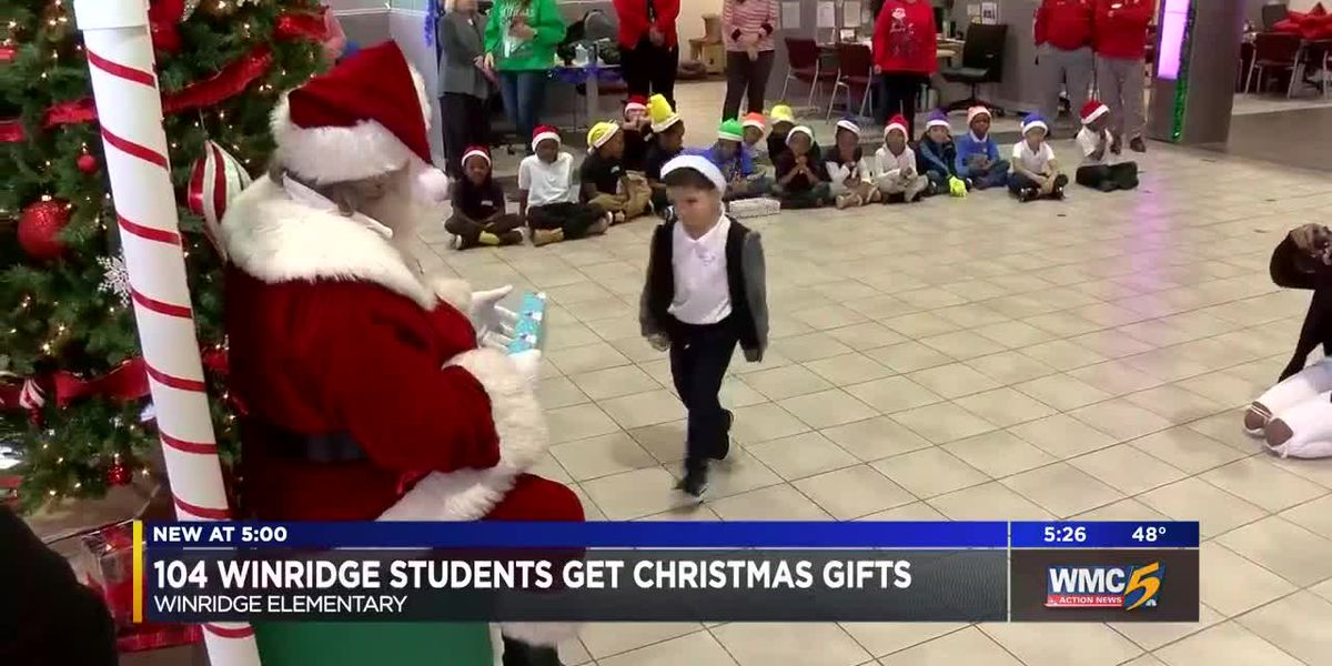 Principle Toyota, SCS surprises elementary students with Santa visit, gifts