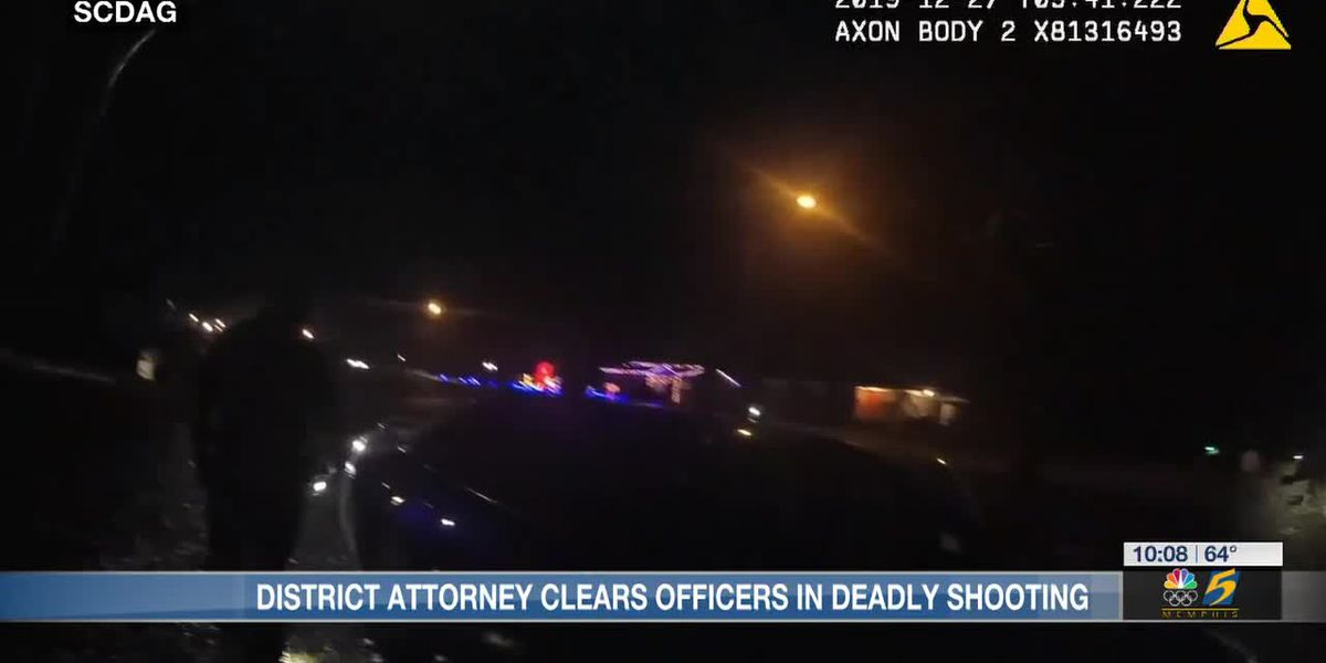 District attorney clears officers in deadly shooting