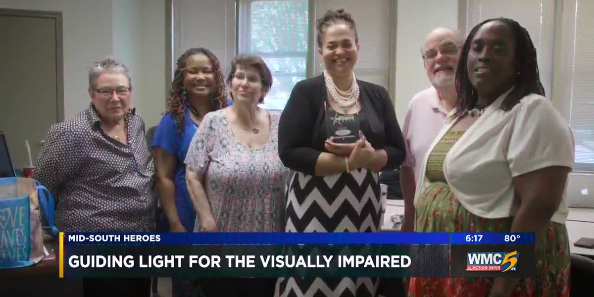 Mid-South Heroes: Guiding light for the visually impaired