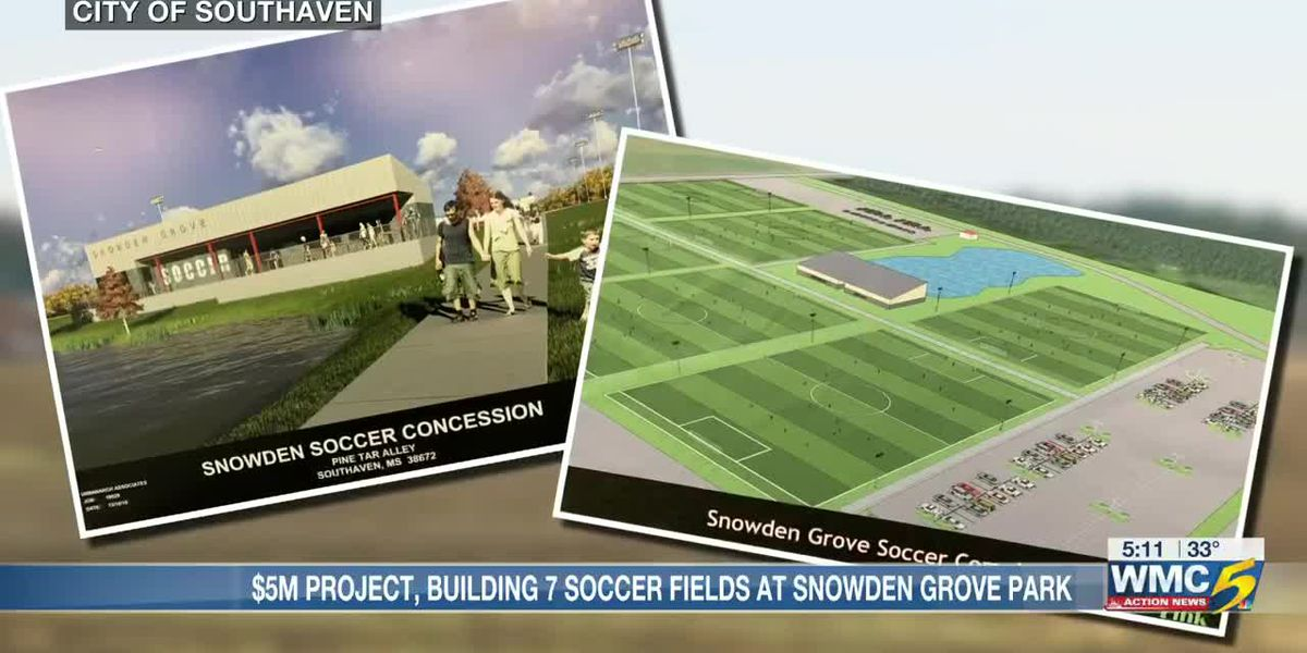 Southaven planning $5M soccer complex at Snowden Grove Park