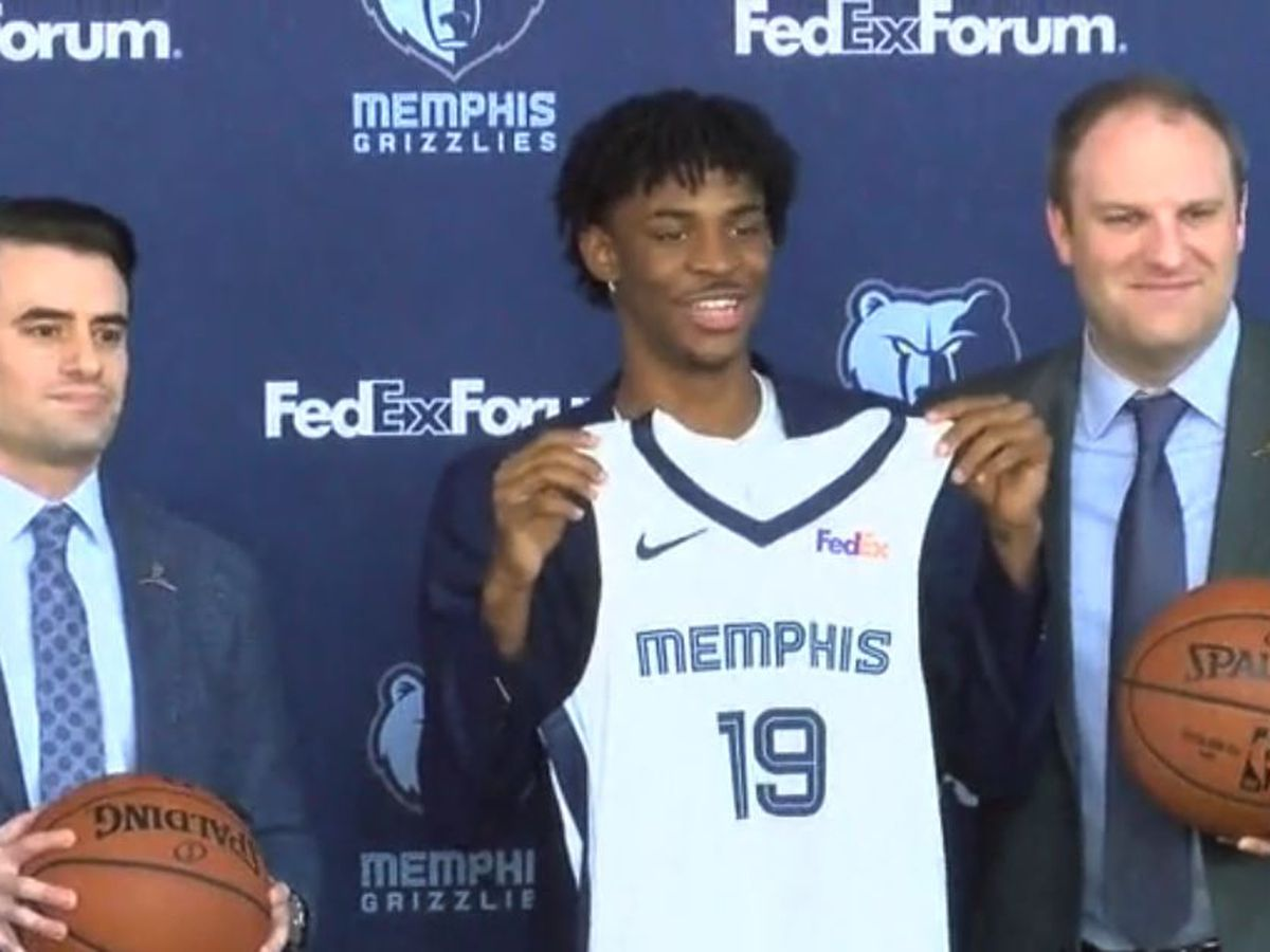 Grizzlies introduce Ja Morant to the Bluff City