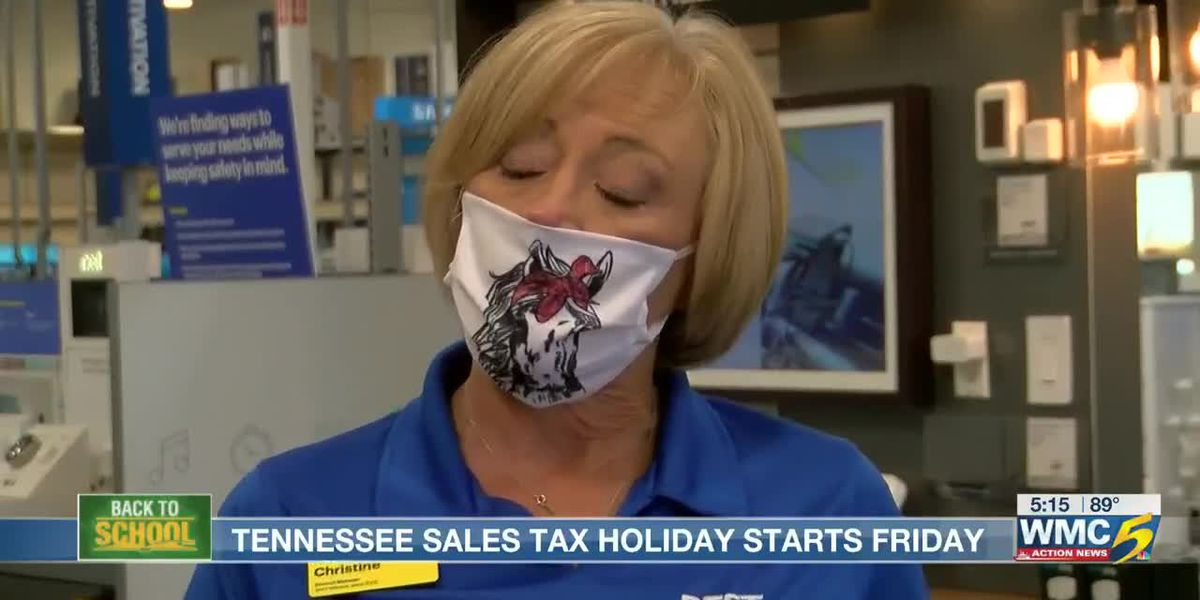 Tennessee tax-free weekend starts Friday