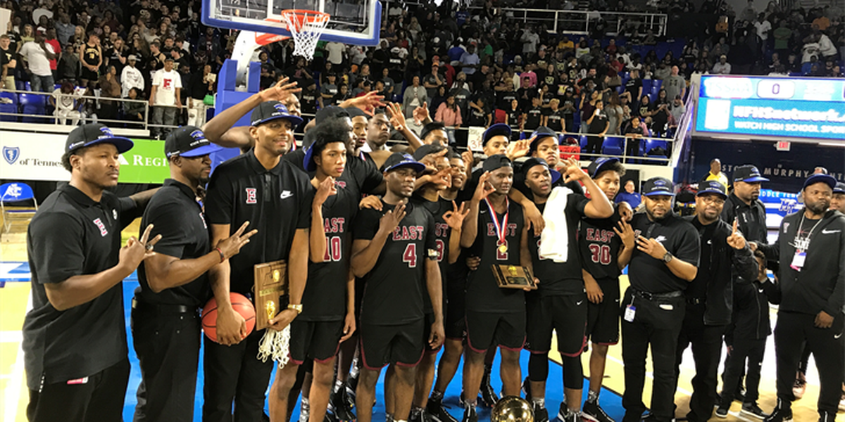 East wins 3rd straight state title, Penny's next move is 'playing golf'