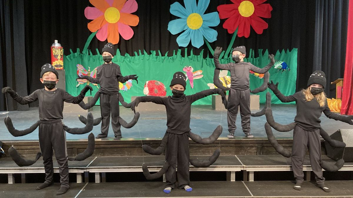 2nd graders 'goin' buggy' at St. George's Independent School