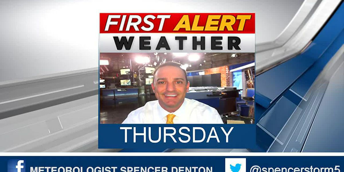 Spencer's Thursday Morning Forecast