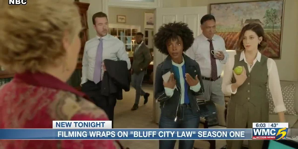 Filming wraps on season 1 of 'Bluff City Law' in Memphis as stars get a special surprise