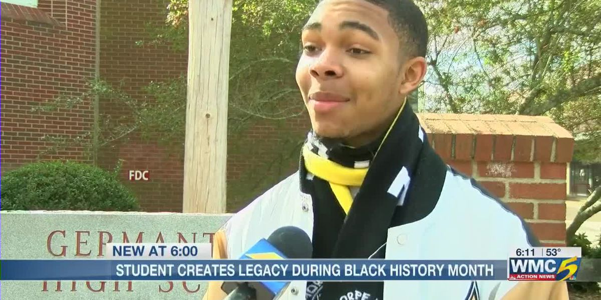 Germantown student develops first Black History Month program for school