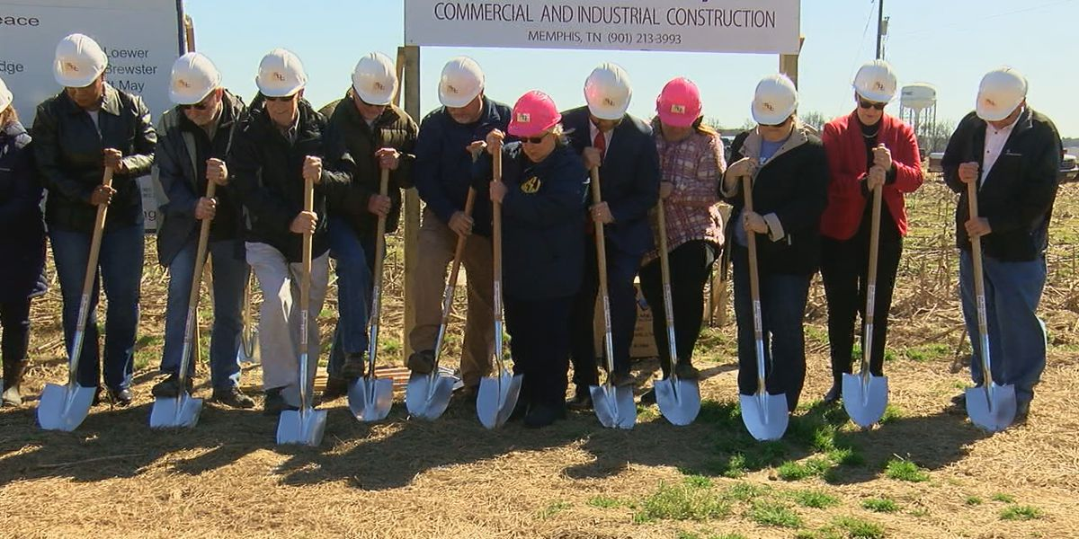 Groundbreaking for new jail approved by voters in Cross County