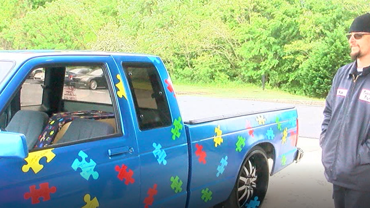 AL dad designs truck to raise awareness for autism