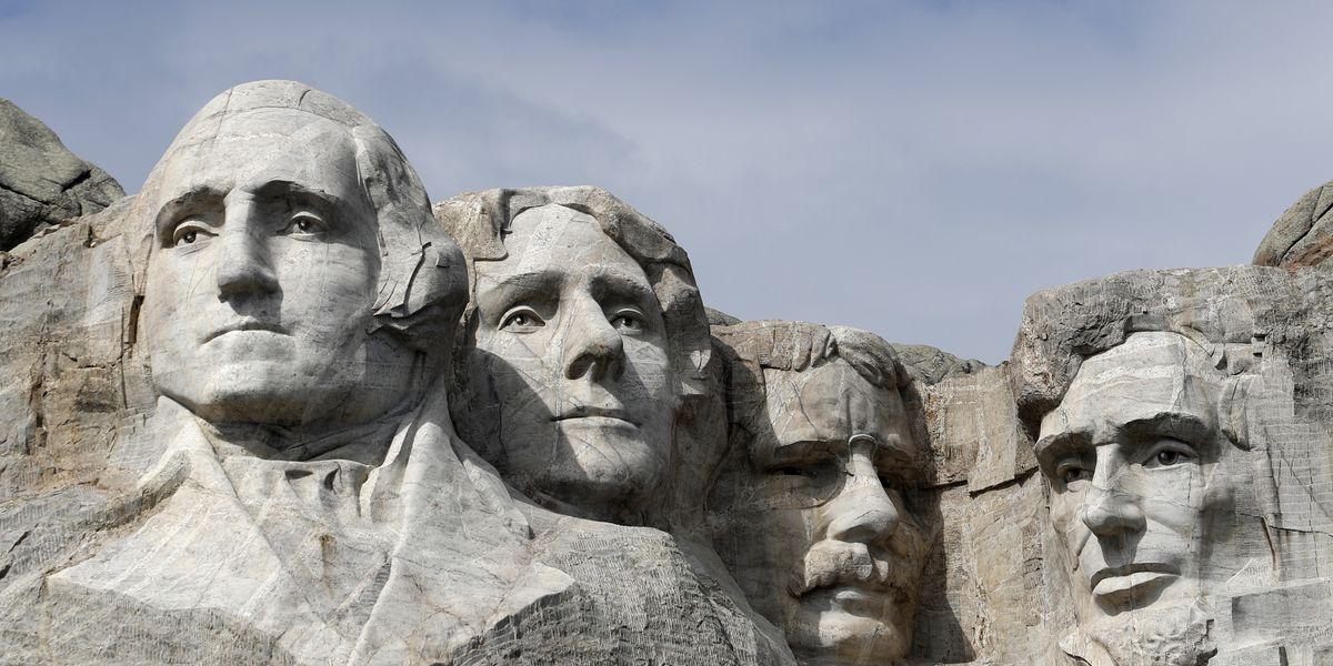 Trump pushes racial division, flouts virus rules at Rushmore