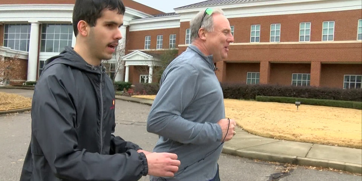 Blind Mid-South student prepares to run in St. Jude Marathon
