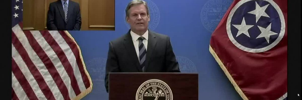 Gov. Bill Lee gives COVID-19 briefing in Tennessee -- May 28