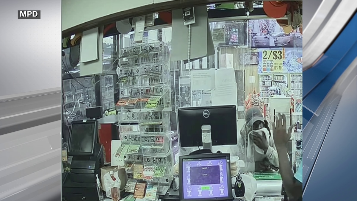 Police searching for gas station robbery suspect