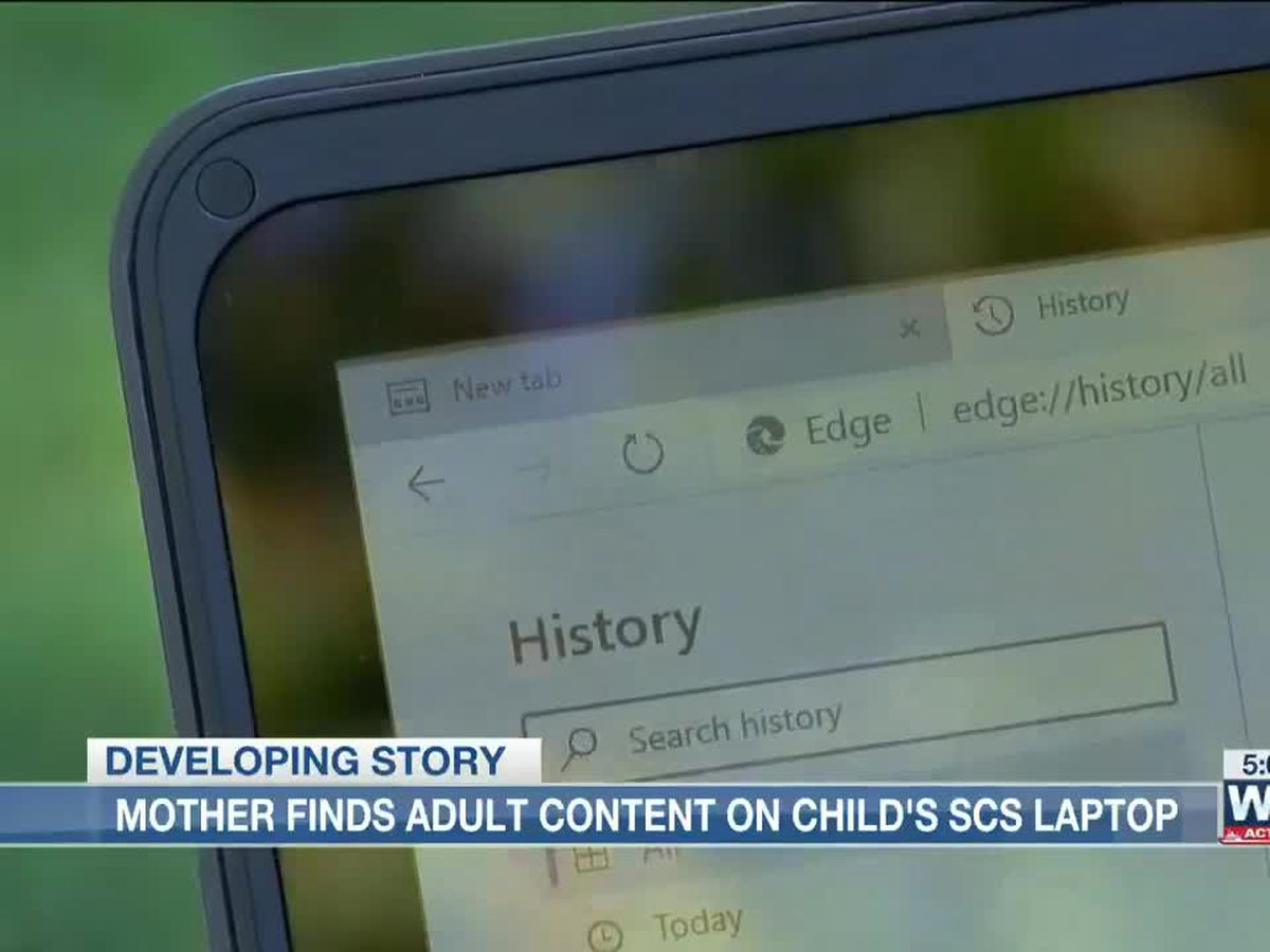 SCS parent says her children can access adult content on district device
