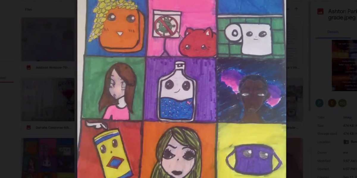Tennessee children use art to express themselves during uncertain times
