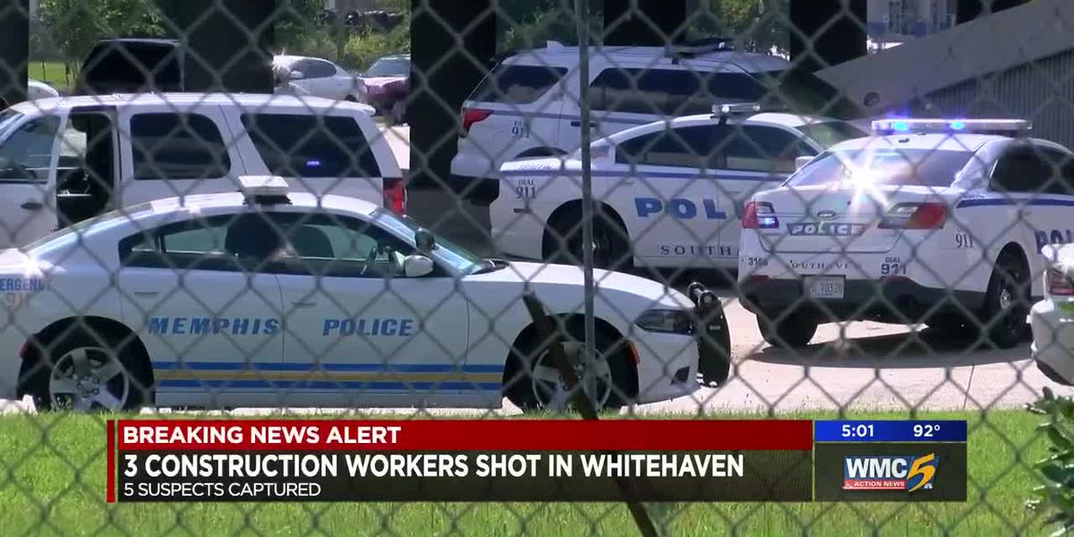 3 construction workers injured in drive-by shooting