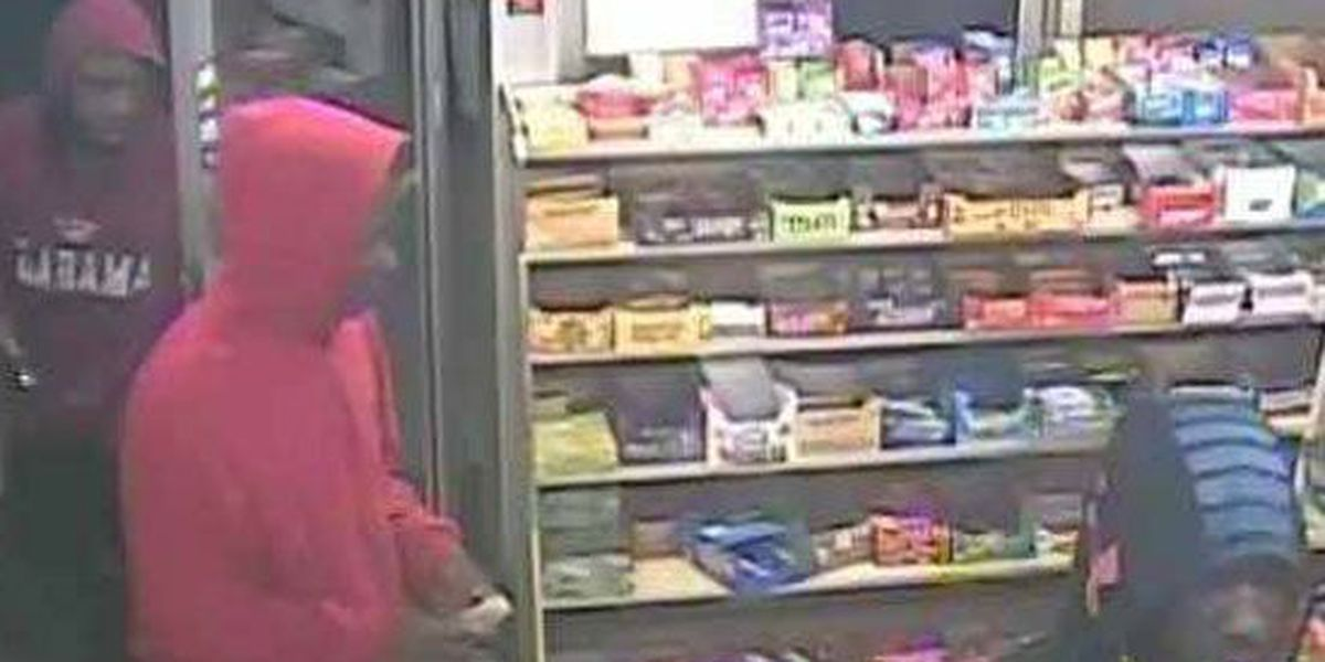 3 wanted for robbery that left cashier wounded