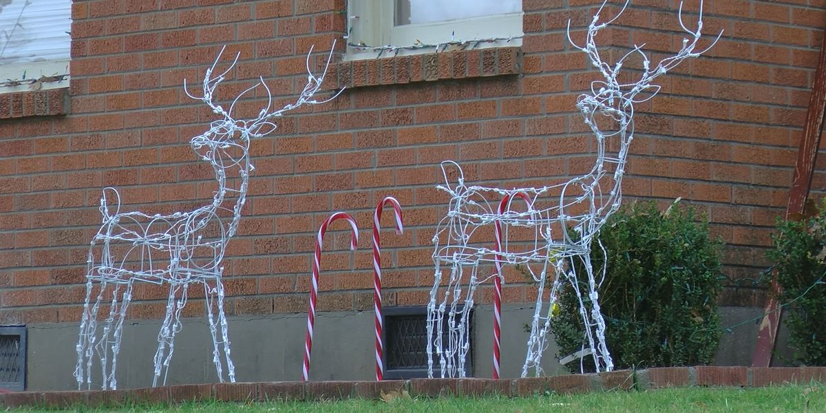"Family says ""Grinch"" stole their Christmas lights"