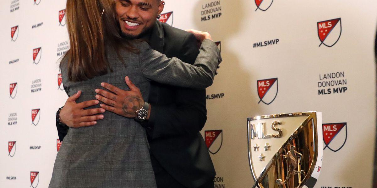 Atlanta's Martinez wins MVP award in Major League Soccer