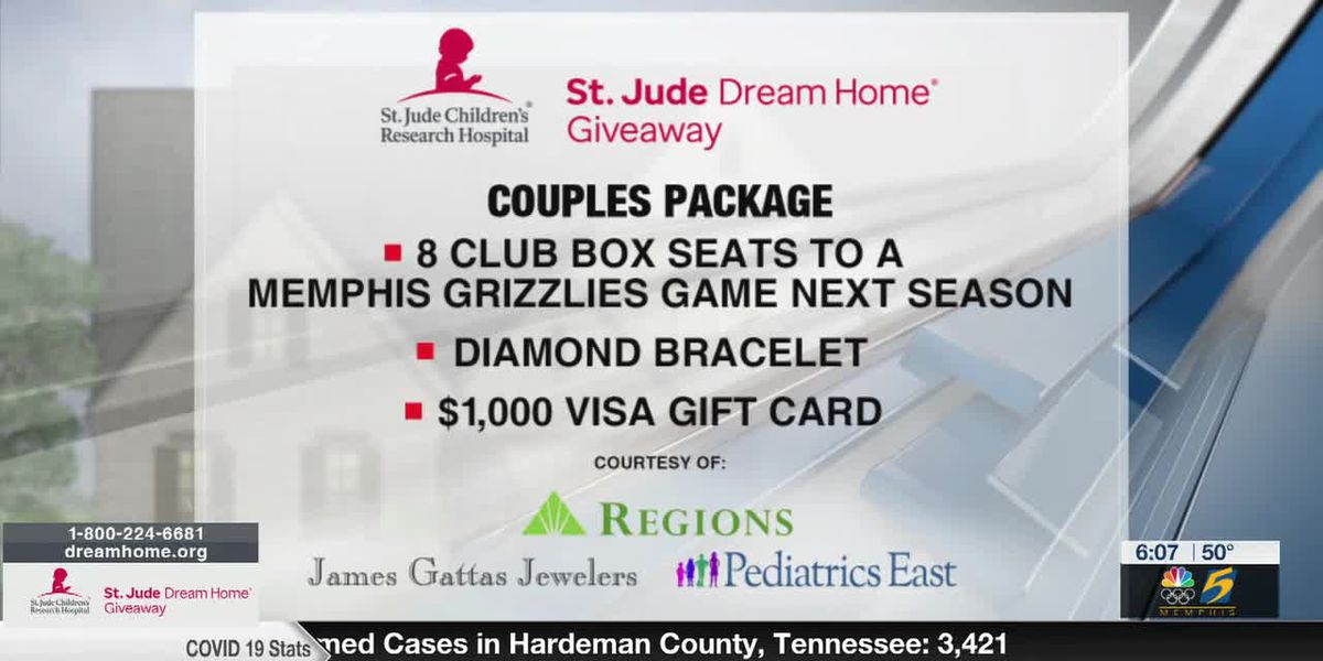 Reserve your tickets today for the 22nd annual St. Jude Dream Home Giveaway!
