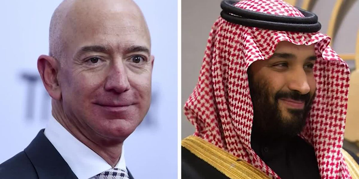 Saudi Arabia denies hacking Amazon CEO's phone
