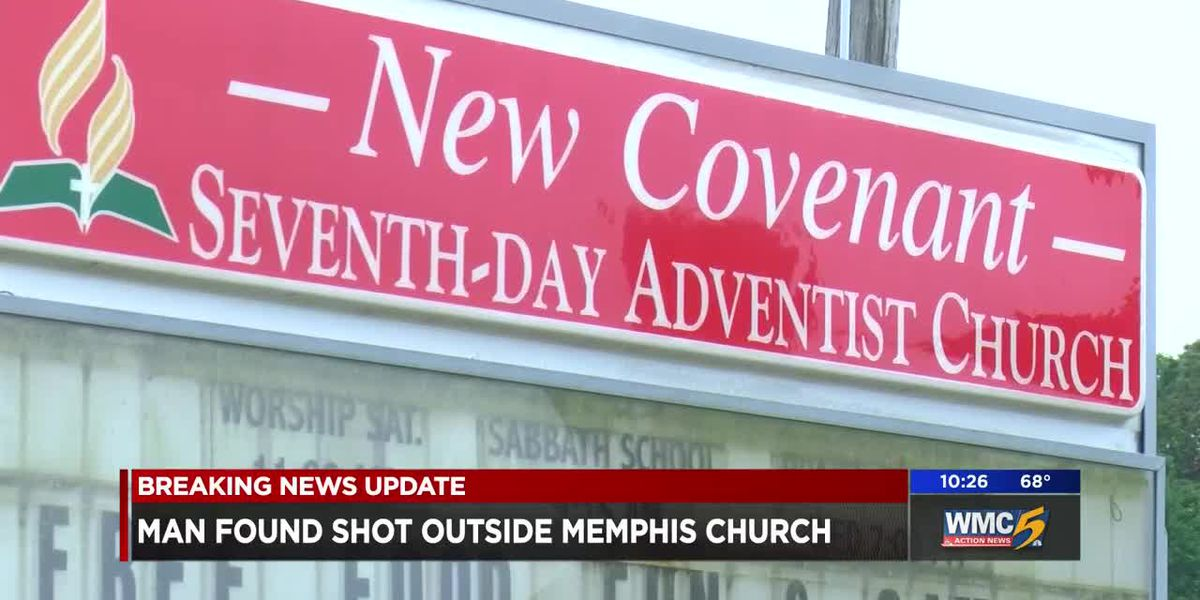 Shooting victim shows up at church