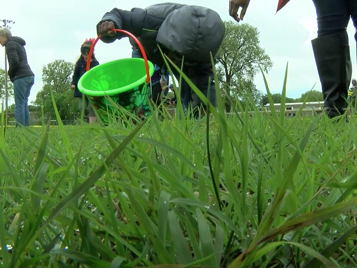 Shelby County holds first beeping Easter egg hunt for visually impaired