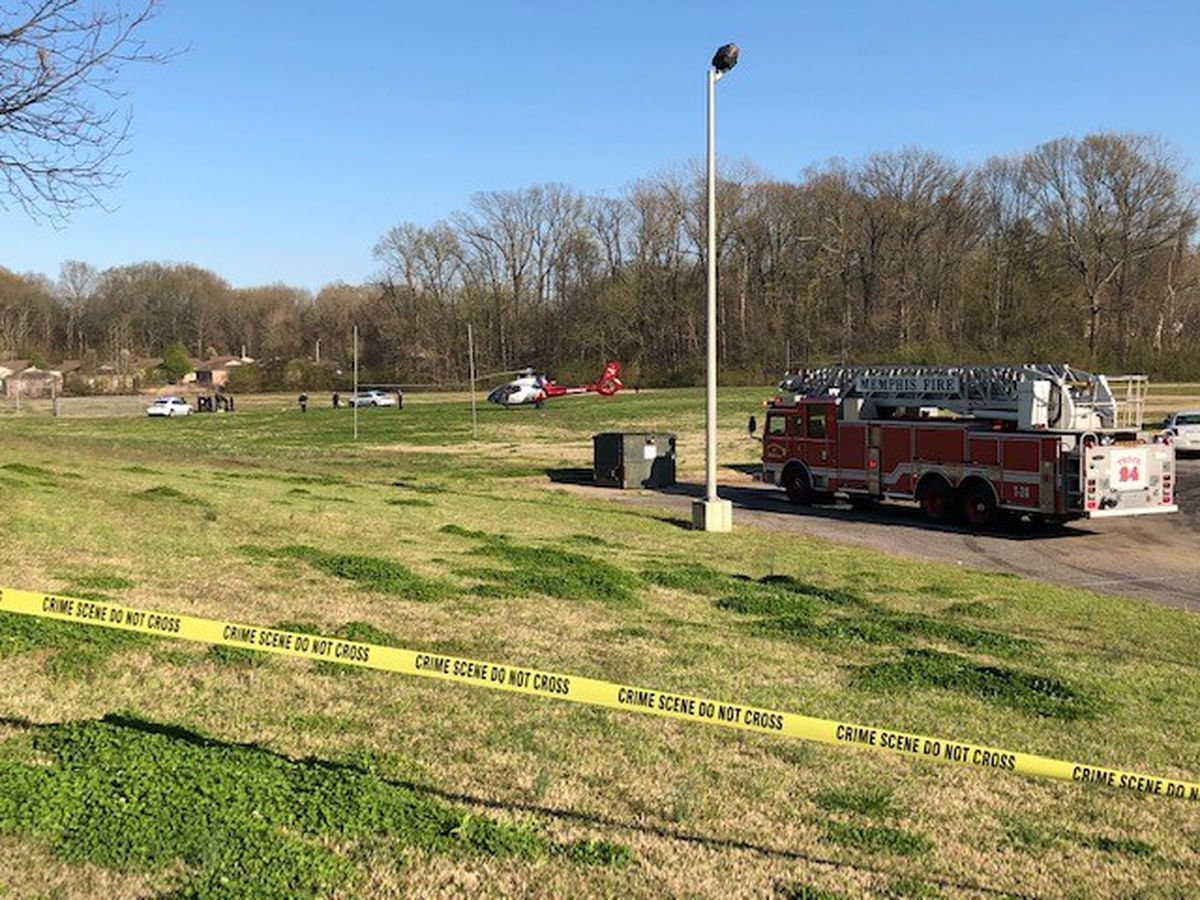 Police find shooting victim at Memphis middle school