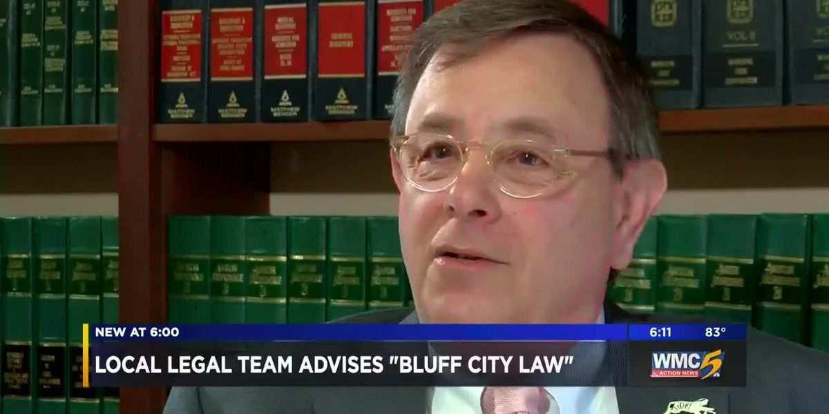 "Local legal team advises ""Bluff City Law"""